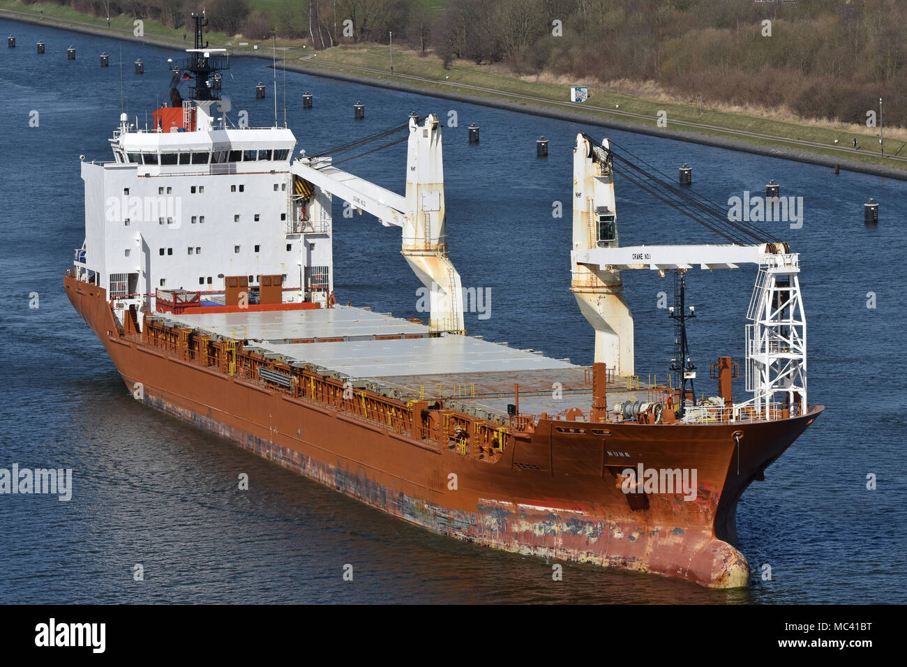 General Cargo Ship NunalikStock Photo