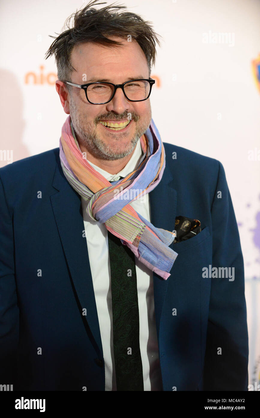 Los Angeles, CA, USA. 12th Apr, 2018. Actor - DAVID ARQUETTE on the red carpet at The We Are One Benefit Concert for The Arts, supporting music and art in Los Angeles Unified School District, The Dorothy Chandler Pavillion, Los Angeles, California, USA, April 12, 2018. The first Annual benefit concert for arts education for the LAUSD.Credit Image cr Scott Mitchell/ZUMA Press Credit: Scott Mitchell/ZUMA Wire/Alamy Live News - Stock Image
