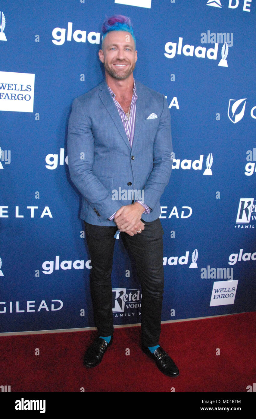 Beverly Hills, California, USA. 12th April, 2018. Charley Cullen Walters attends the 29th Annual GLAAD Media Awards at The Beverly Hilton Hotel on April 12, 2-18 in Beverly Hills, California. Photo by Barry King/Alamy Live News Stock Photo