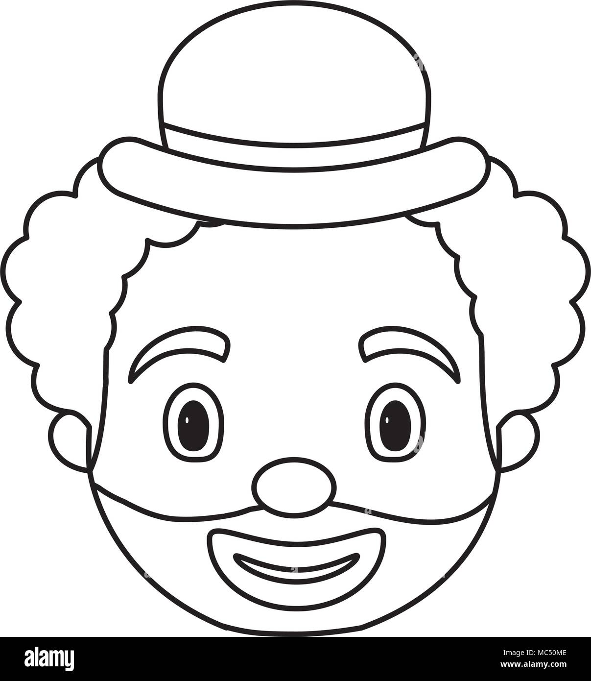 Clown Hat Black And White Stock Photos Images Alamy