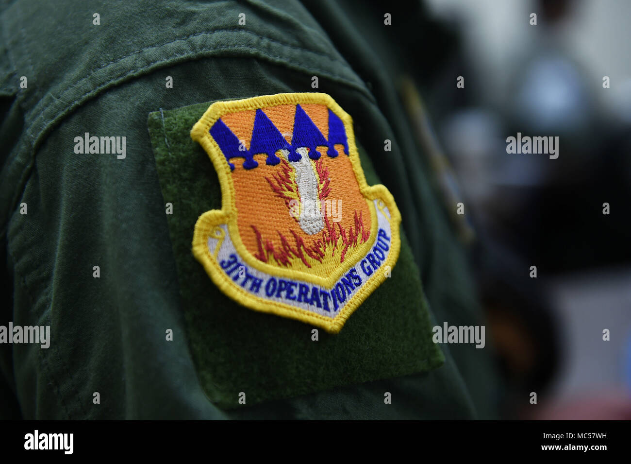 317th  AIRLIFT WING SPECIAL OPS  patch