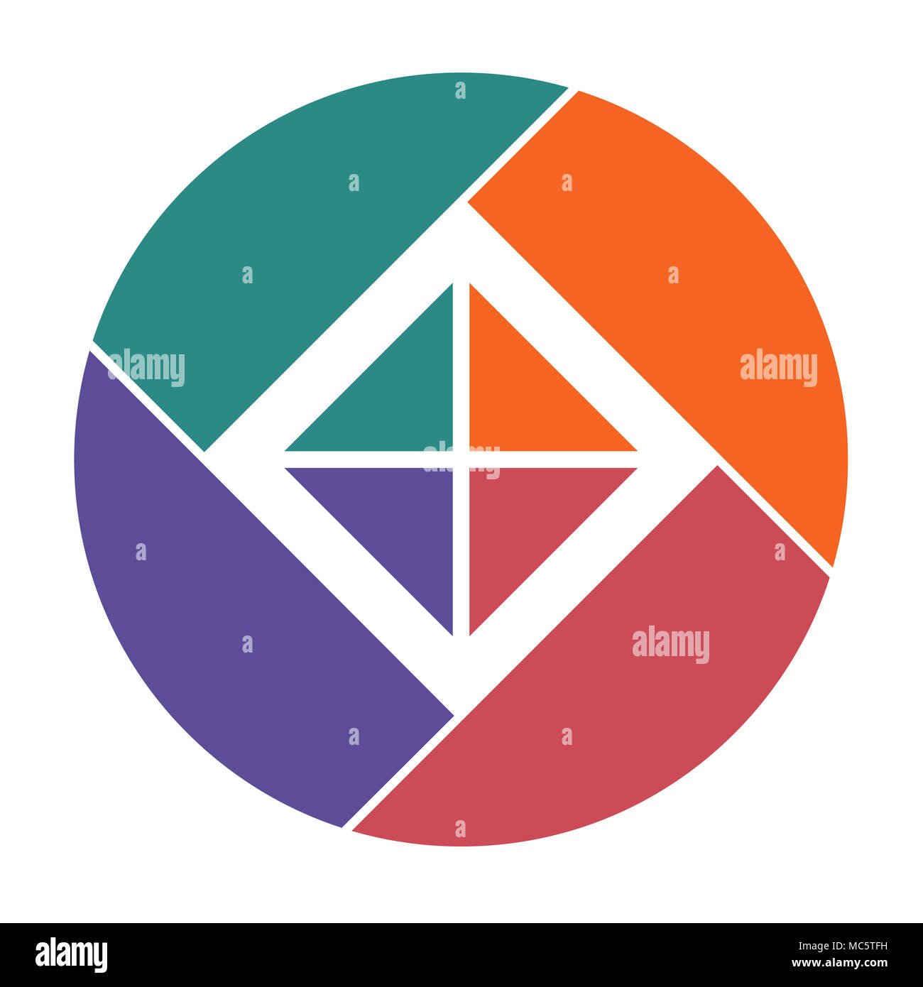 pie chart 4 stock photos pie chart 4 stock images alamy