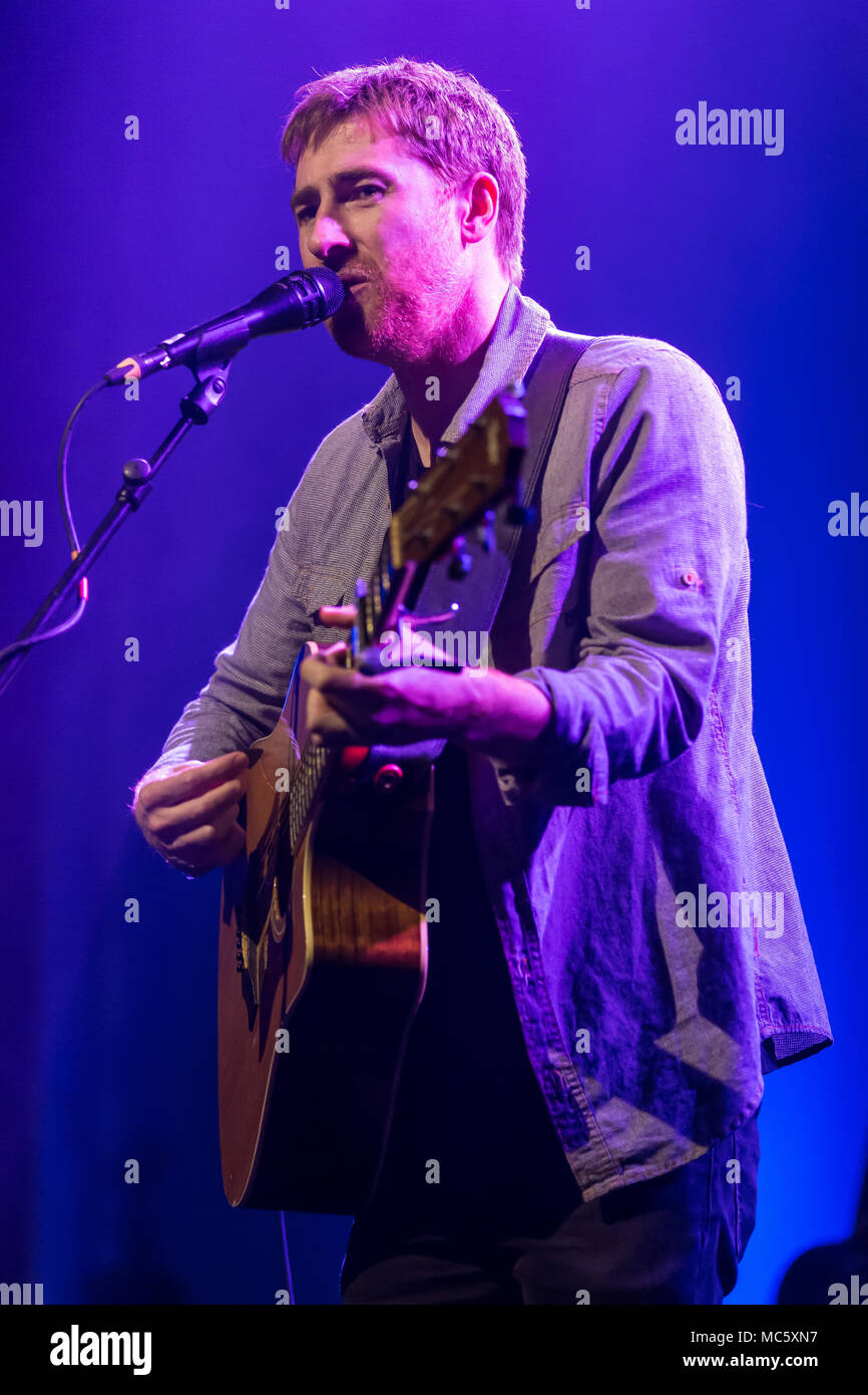 The British singer and songwriter Jamie Lawson live at the Blue Balls Festival Lucerne, Switzerland - Stock Image
