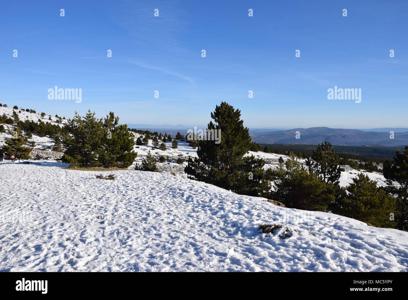 Mont Ventoux, France - Stock Image