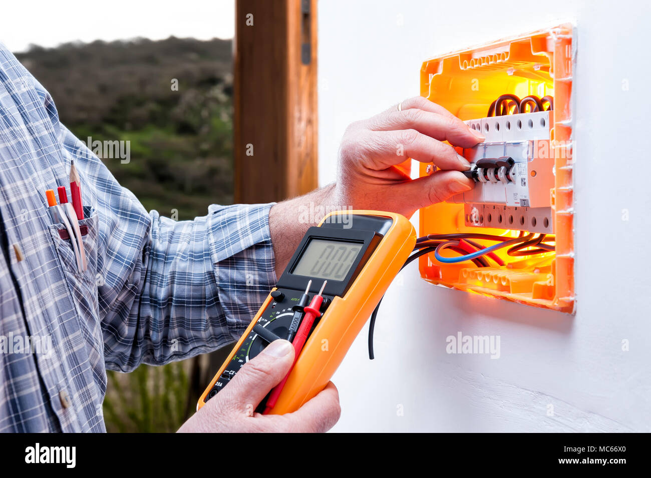 Residential Electrical Repair Stock Photos Residential Electrical