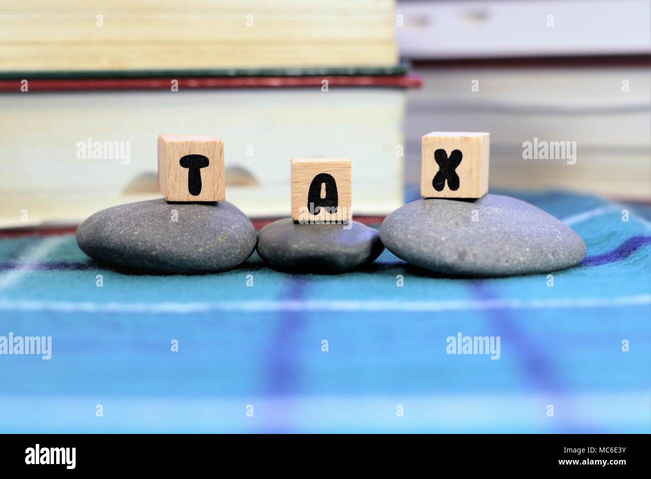 Concept of Tax or taxation - Stock Image