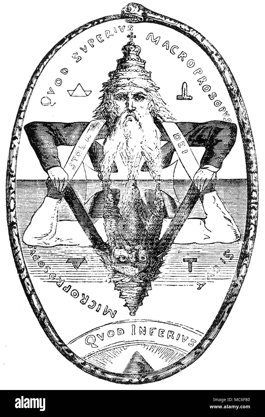 Macrocosm and microcosm entwined in Seal of Solomon