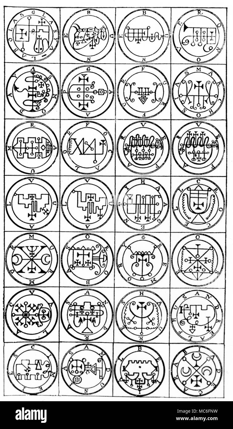 Lesser Key Of Solomon Stock Photos & Lesser Key Of Solomon