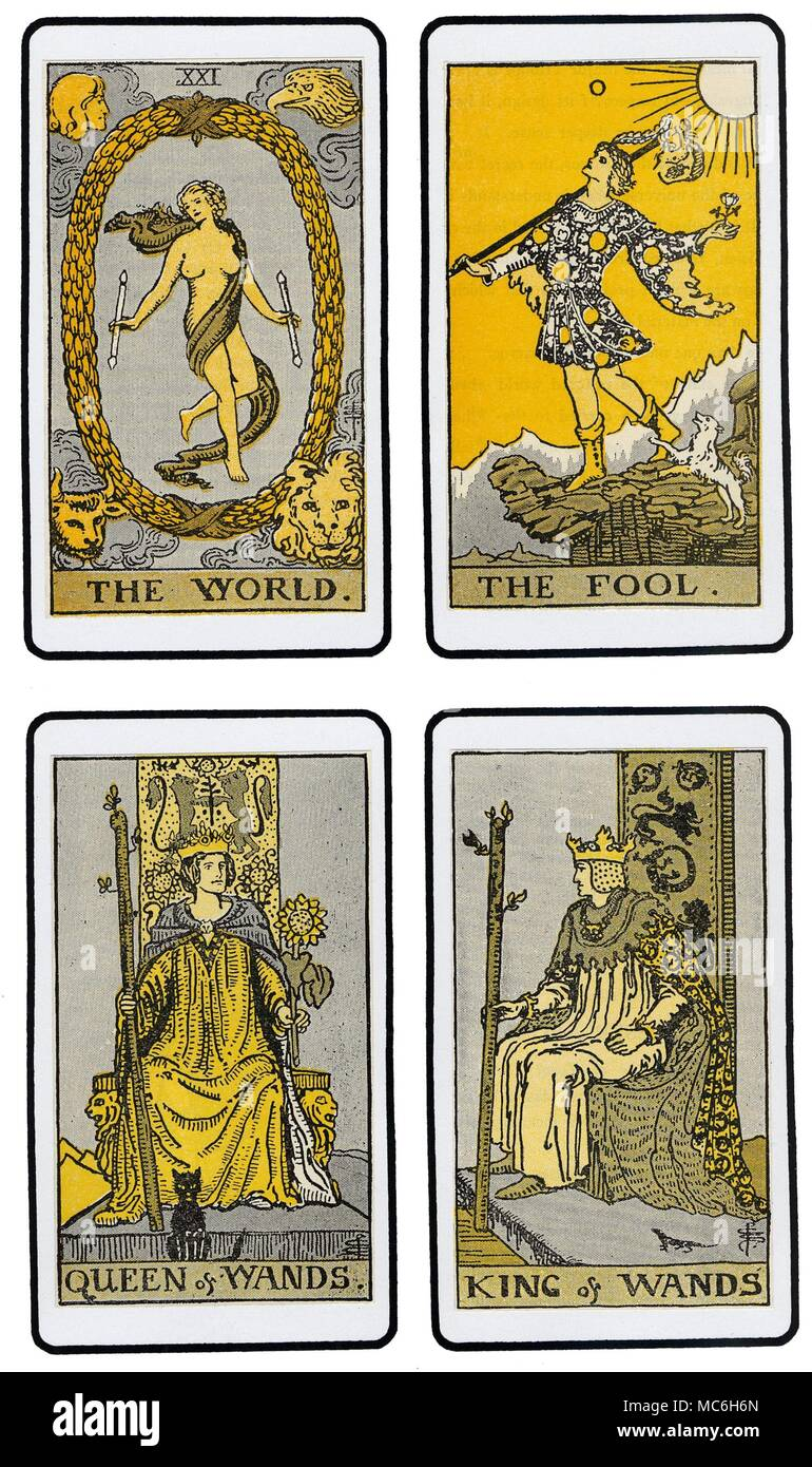 THE DE LAURENCE DECK The Final Set Of Tarot