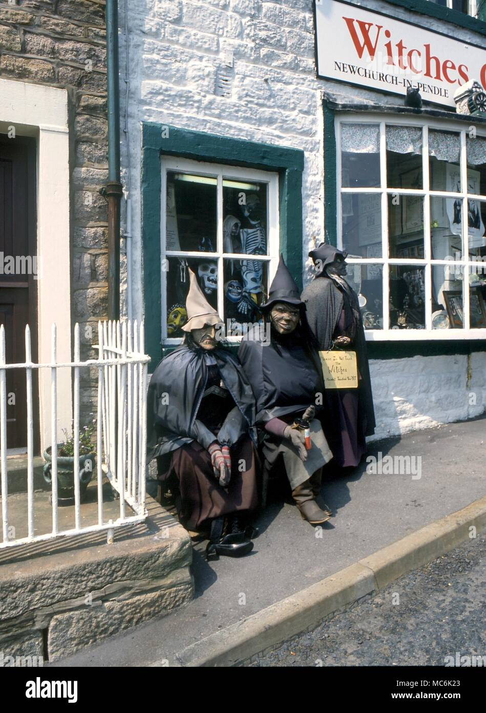 WITCHCRAFT SITES - Exterior of the 'witchcraft shop' 'Witches Galore