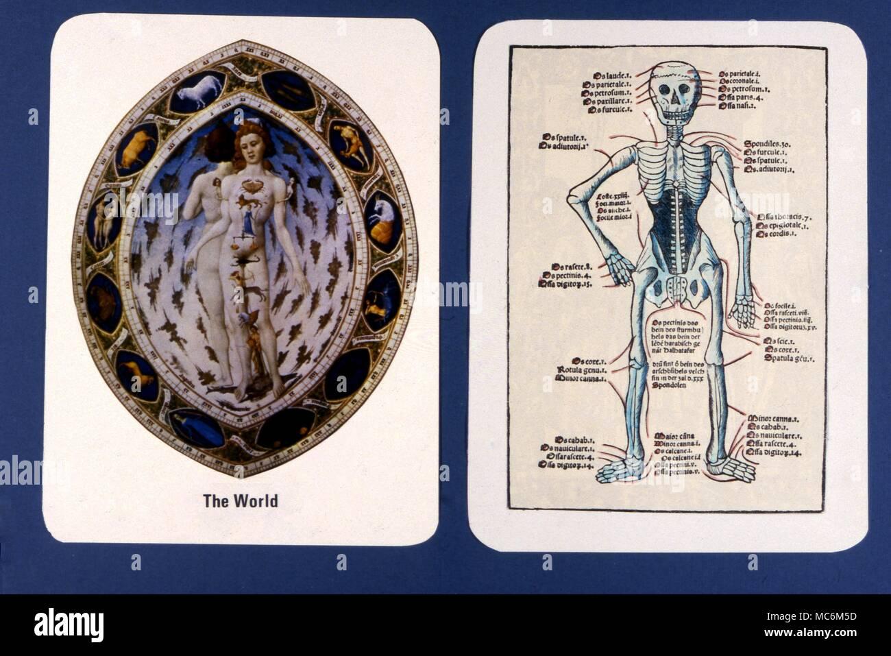 Tarot Cards - Major Arcana - Private Design In Modern times