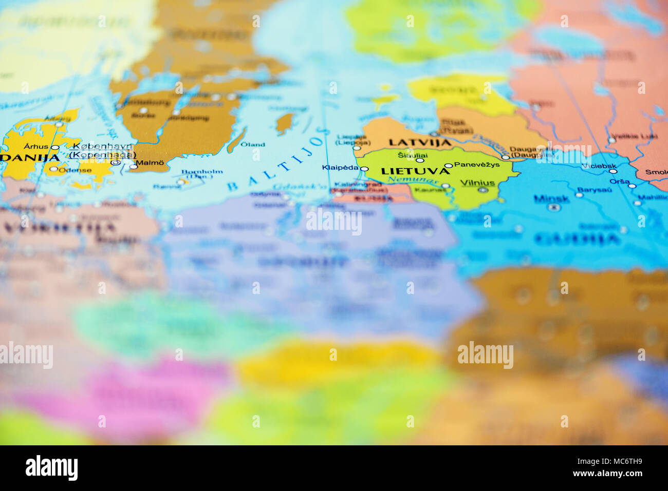 travel concept top view copy space country and travel destination pinned on map