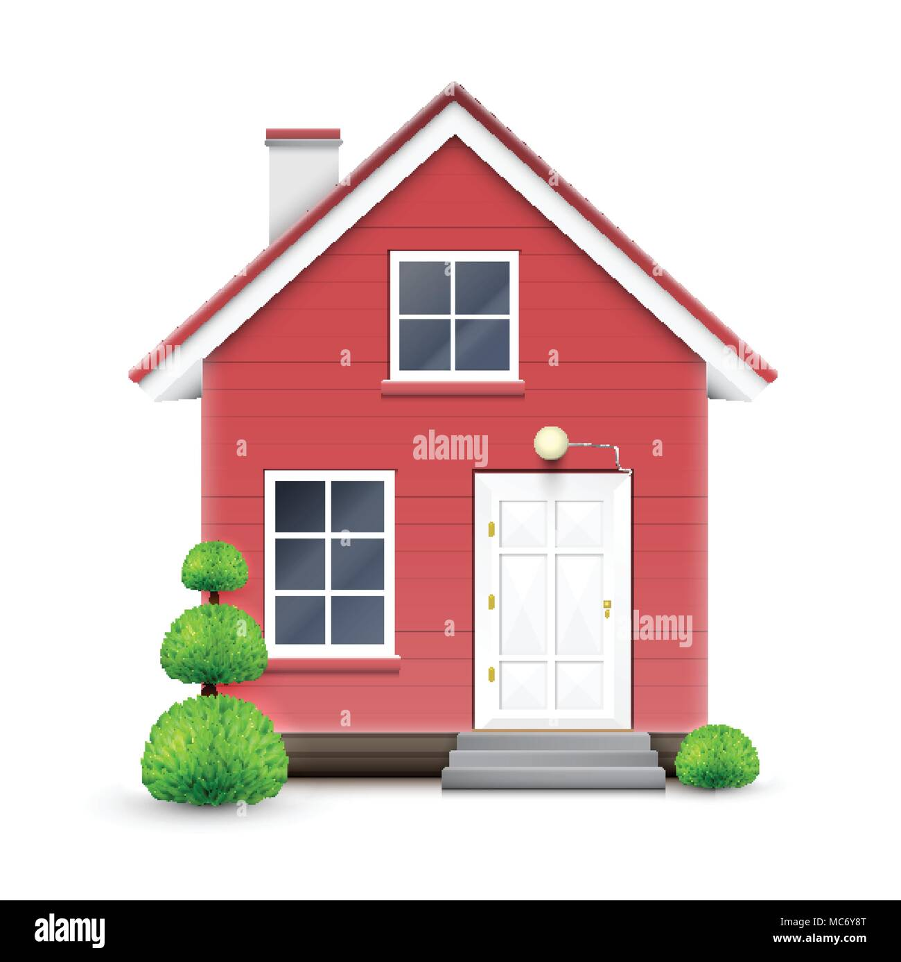 Realistic house, vector Stock Vector Art & Illustration ... on house framing designs, house carports designs, shake siding designs, house stucco designs, patios designs, metal siding designs, stone siding designs, cedar siding designs, rustic home exterior designs, masonite siding designs, house steps designs, house chimney designs, modern siding designs, cottage siding designs, mobile home siding designs, home repair designs, house garage designs, house beams designs, hardie siding designs, house plastering designs,