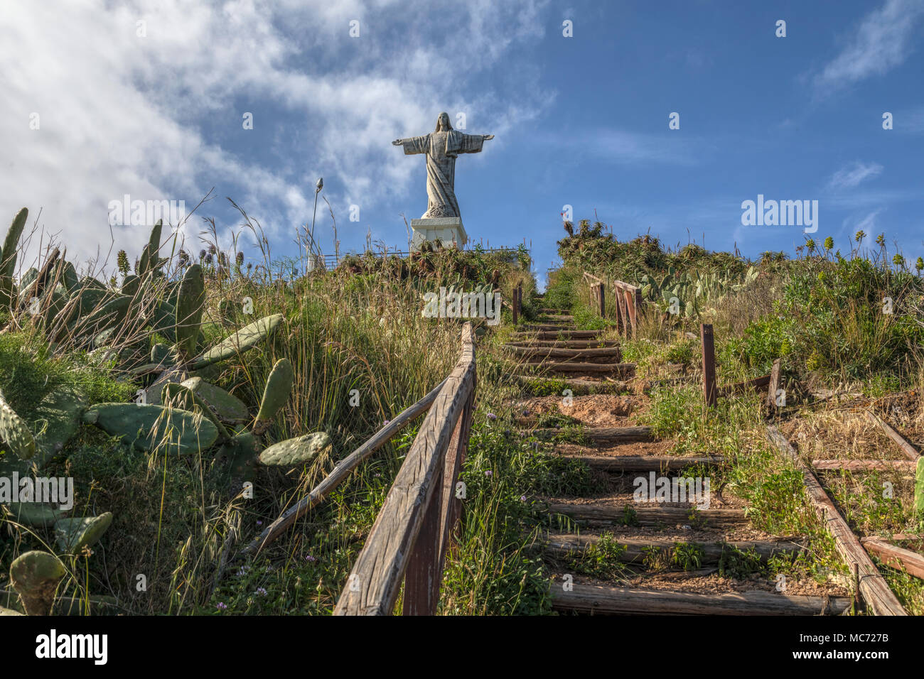 Cristo Rei, Funchal, Madeira, Portugal, Europe - Stock Image
