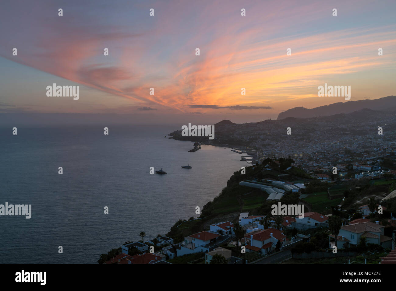 Funchal, Madeira, Portugal, Europe - Stock Image
