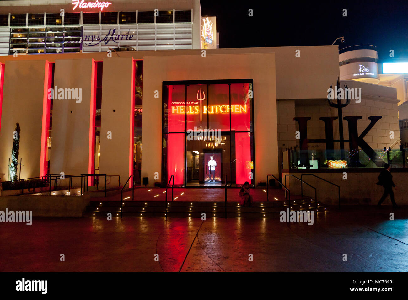 hells kitchen restaurant by gordon ramsay in las vegas nevada - Hells Kitchen Restaurant