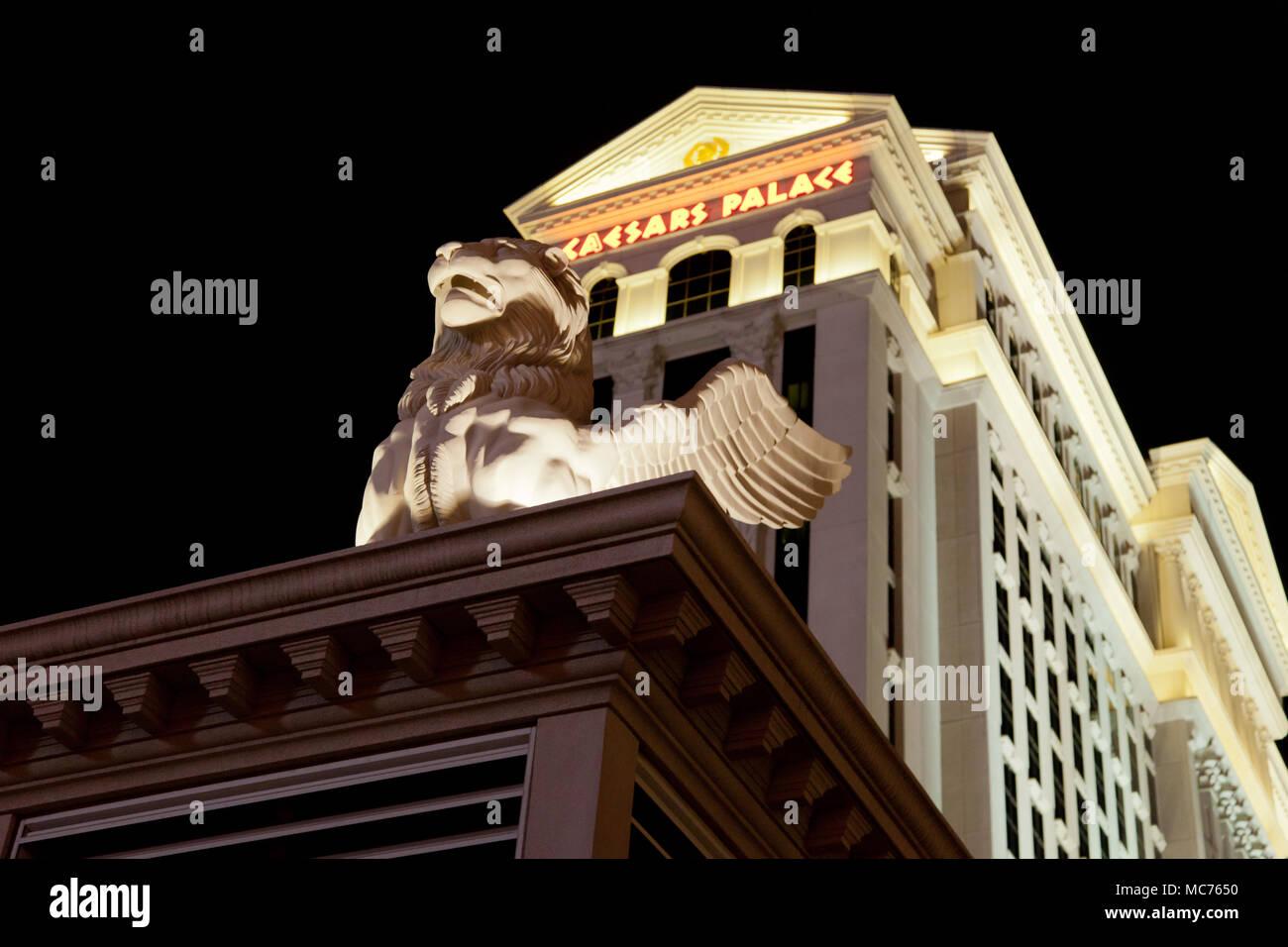 Caesar's Palace. Las Vegas, Nevada - Stock Image