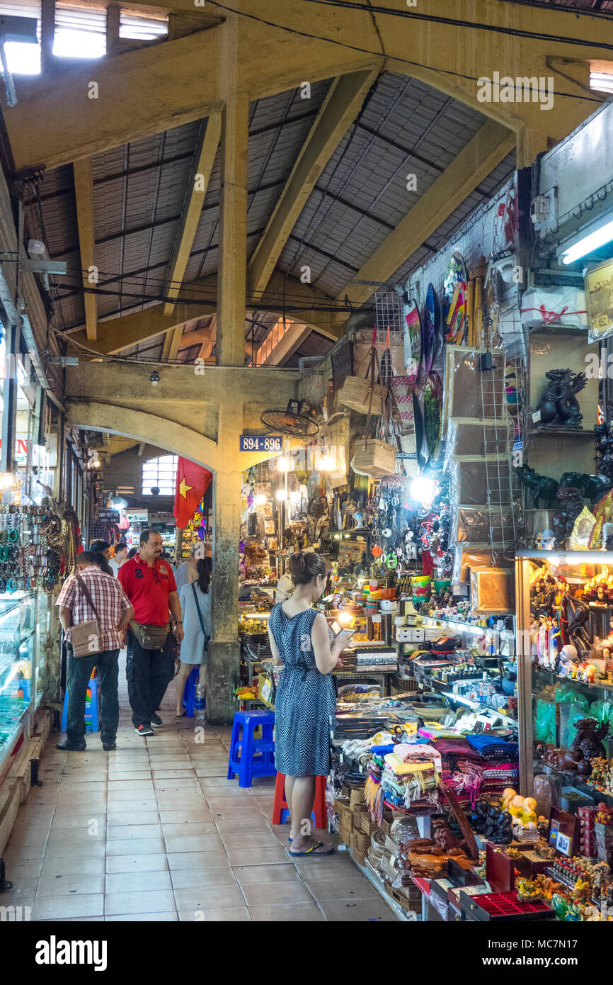 Shopping For Souvenirs And Handicrafts In Ben Thanh Markets In Ho