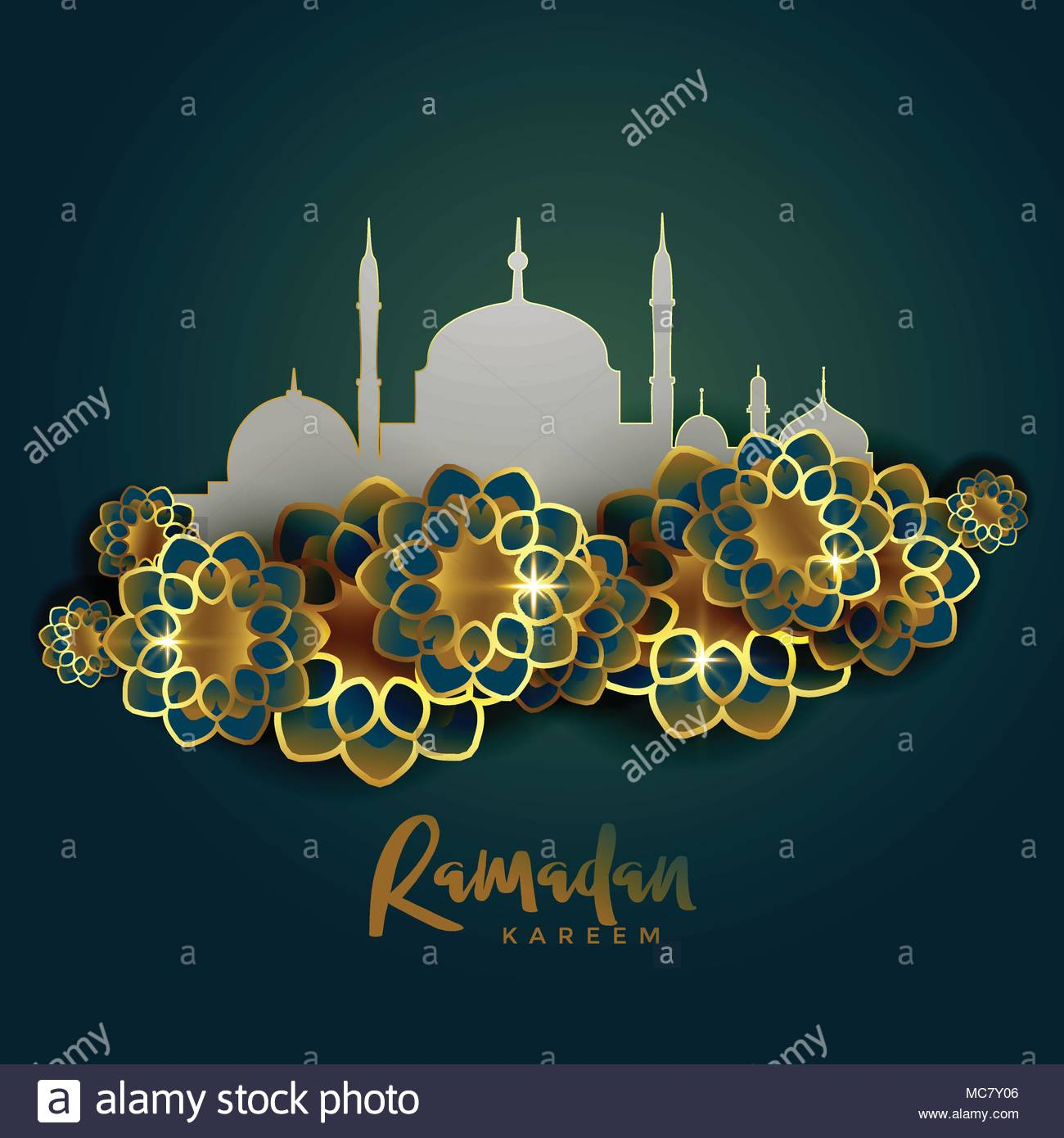Islamic Greeting Stock Vector Images Alamy