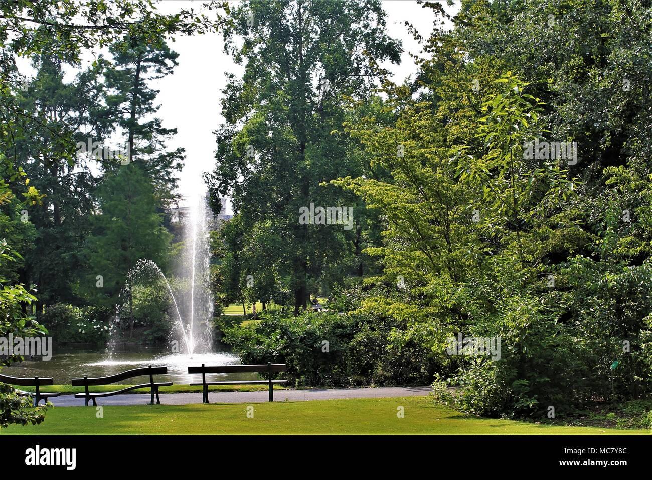Jardin des Plantes (Botanical garden) of Nantes, Loire Atlantique, Pays de la Loire region, France Stock Photo