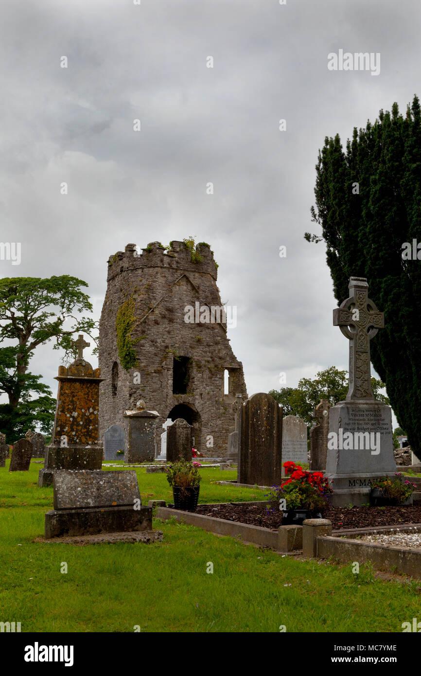 Knocktopher Church (Eaglais Cnoc an Tochair), Kilkenney, Eire - Stock Image