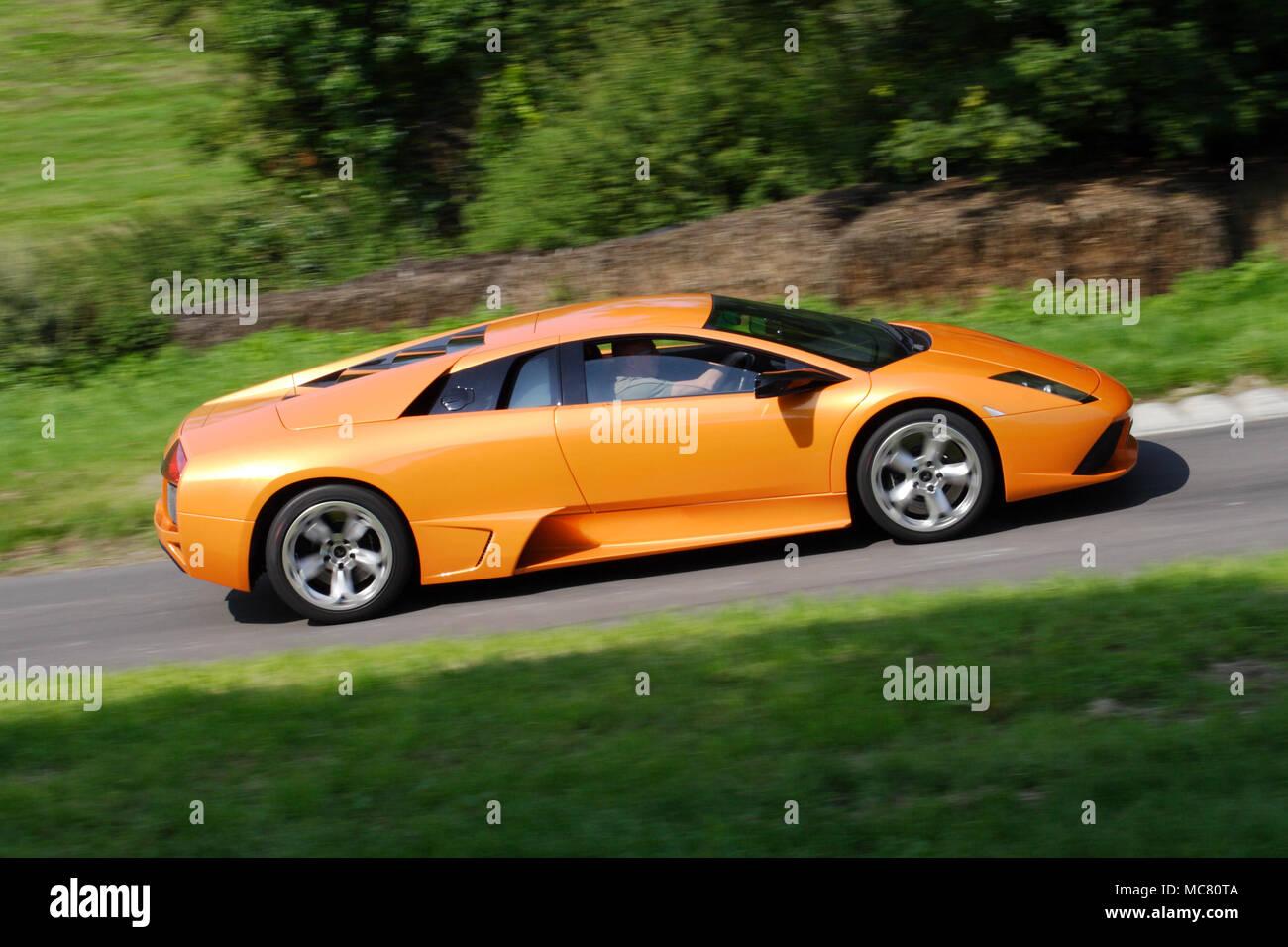Orange Lamborghini Stock Photos Orange Lamborghini Stock Images