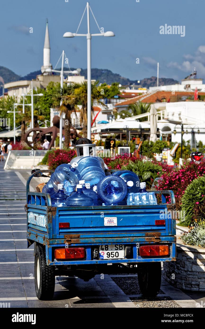 Trinkwasser -Drinking water - Marmaris - Turkey - Türkei Stock Photo