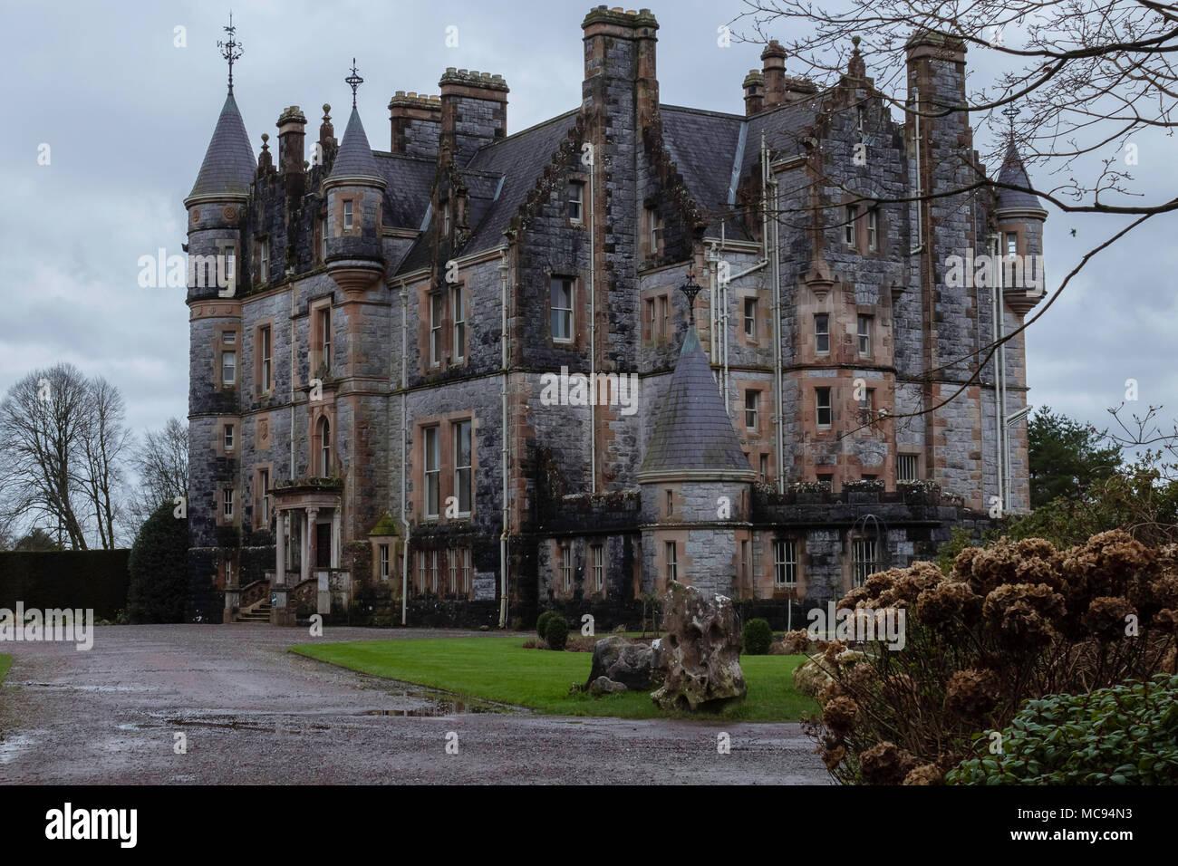 Blarney Castle in Cork - Stock Image