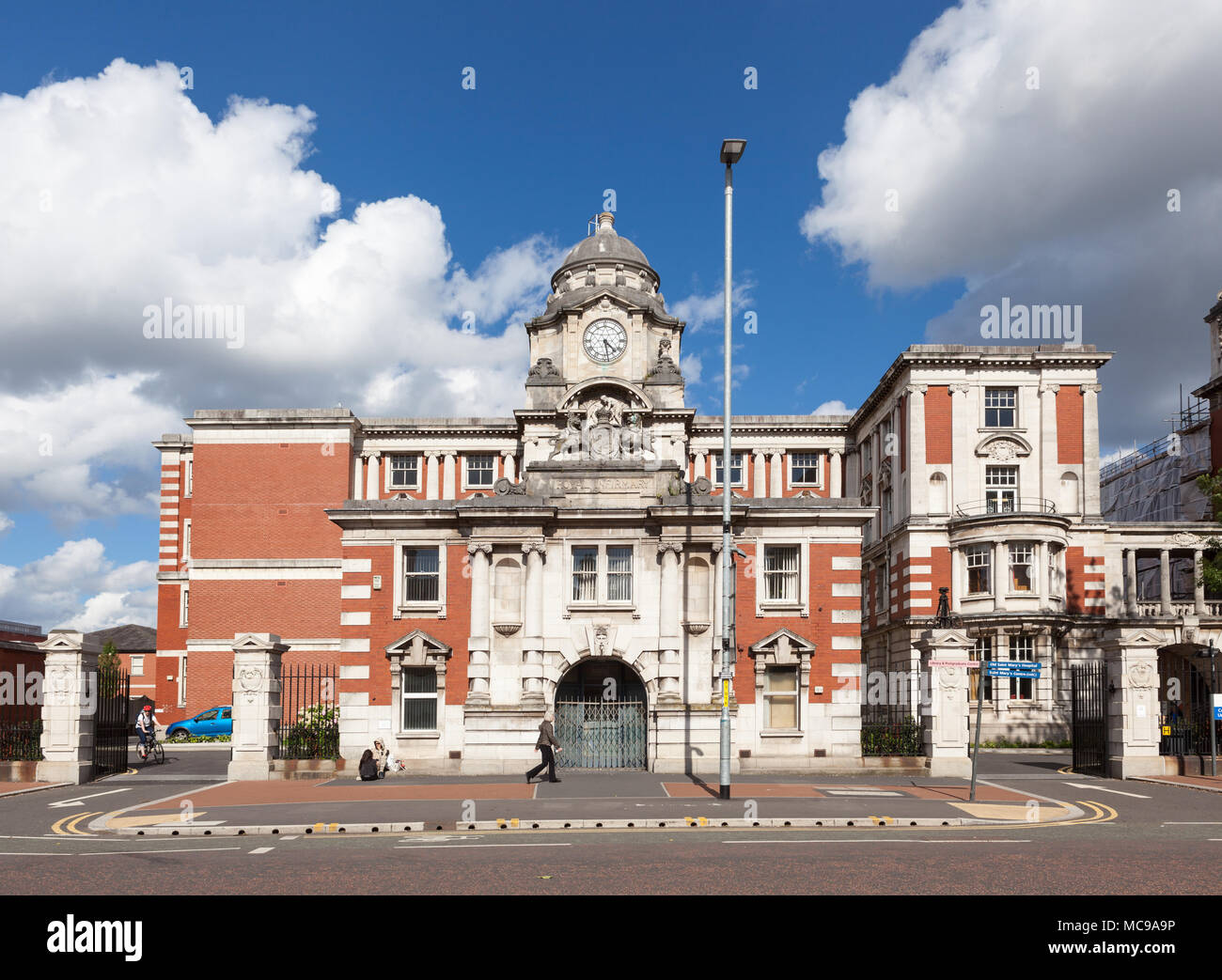 Central Manchester University Hospitals NHS Foundation Trust Headquarters. - Stock Image