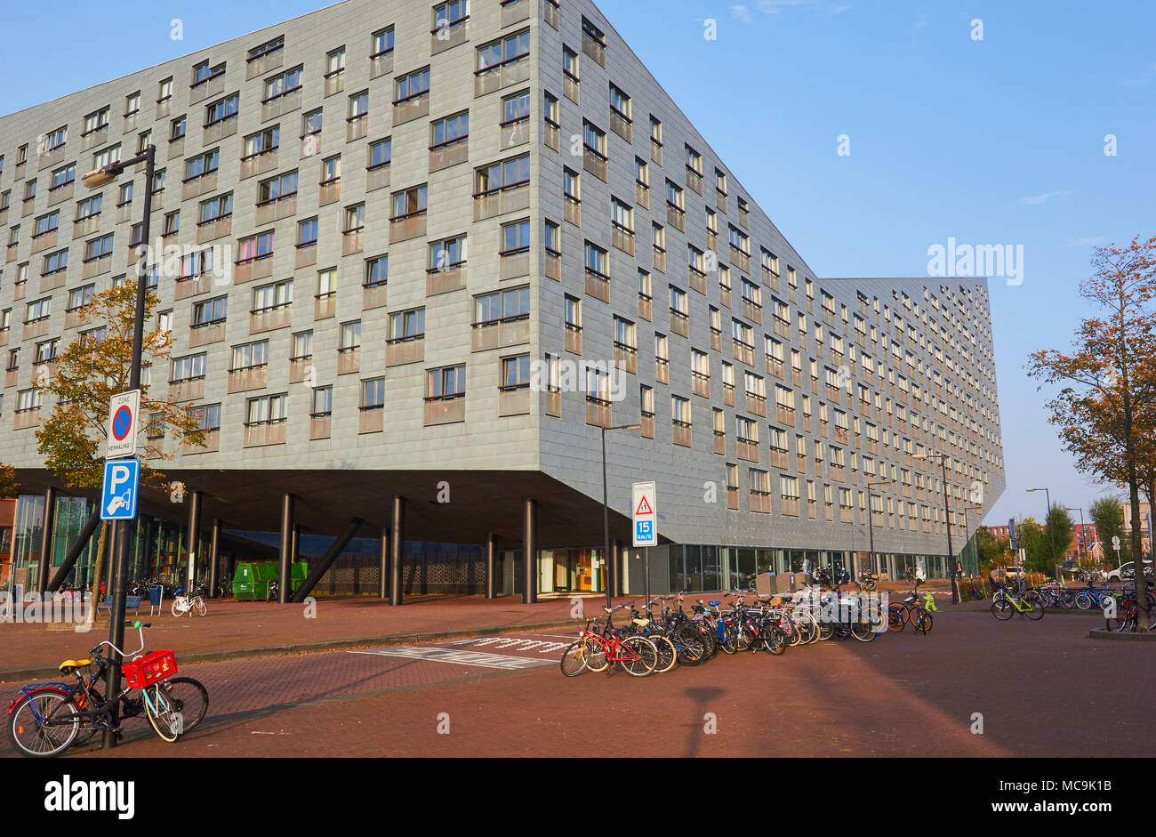 The Whale housing project, Borneo-Sporenburg, Amsterdam, Netherlands. Stock Photo