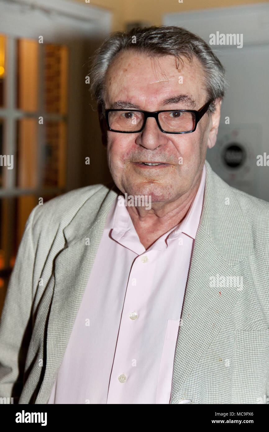 STAMFORD,CT, USA-MAY 28, 2009 : Milos Forman answered the questions about the movie ``One Flew Over the Cuckoos Nest`` on Avon Theatre. - Stock Image