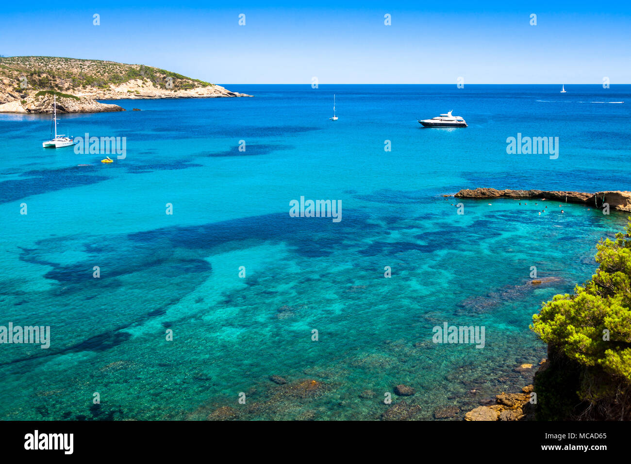 San Miguel - Ibiza - Balearic Islands - Spain - Stock Image