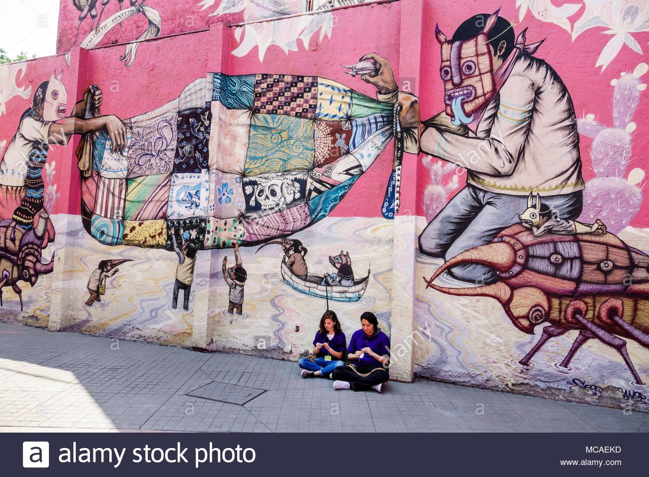 Murales De Saner En Mexico