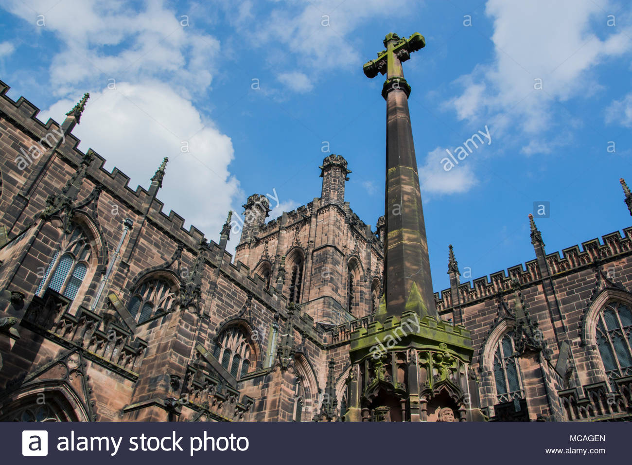 Chester Cathedral - Stock Image