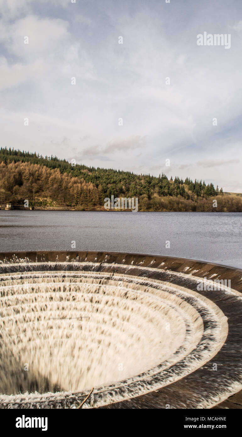 water Ladybower  Derbyshire Ray Boswell - Stock Image