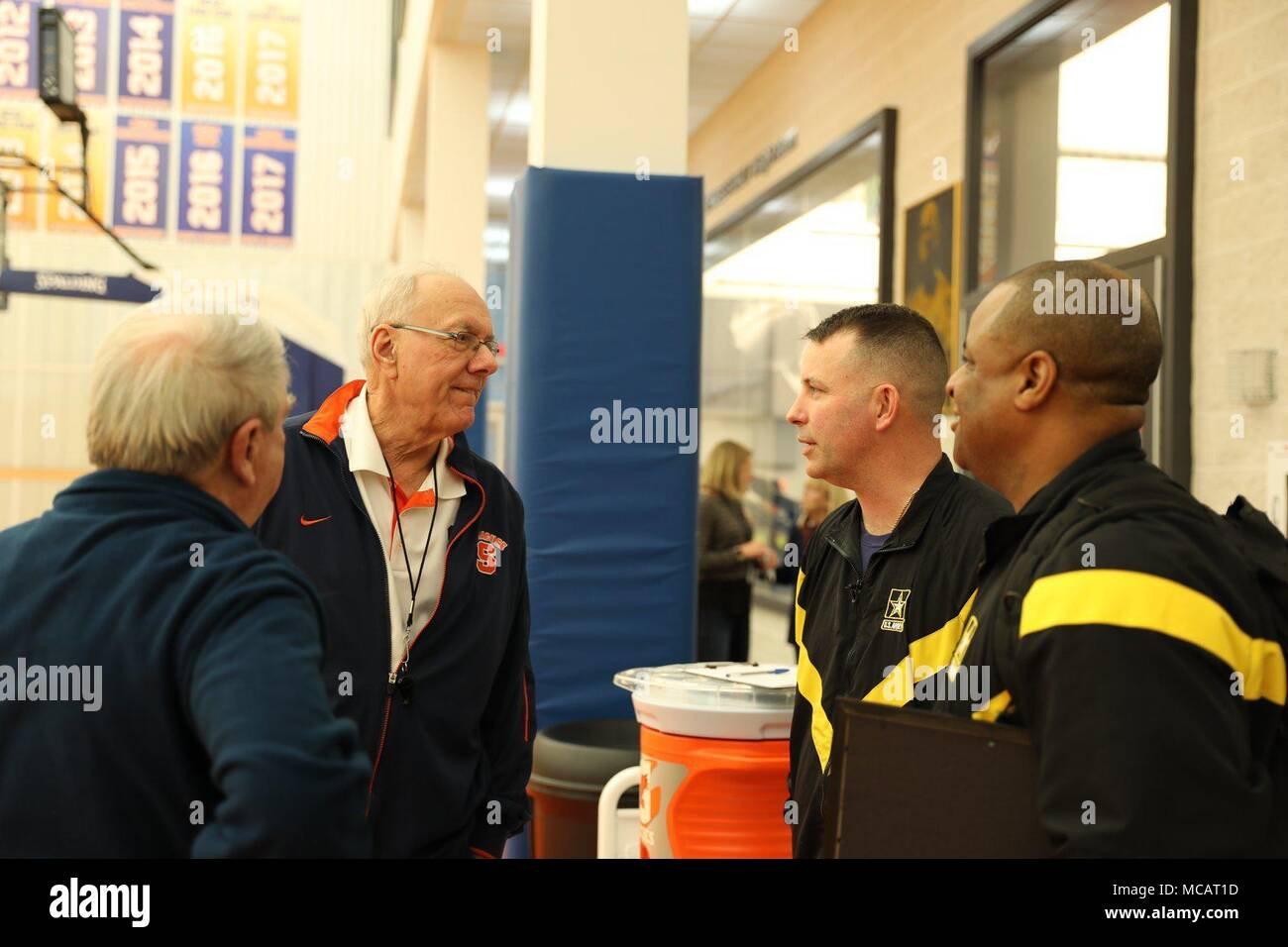 Syracuse Orange Men S Basketball Team Head Coach Jim Boeheim
