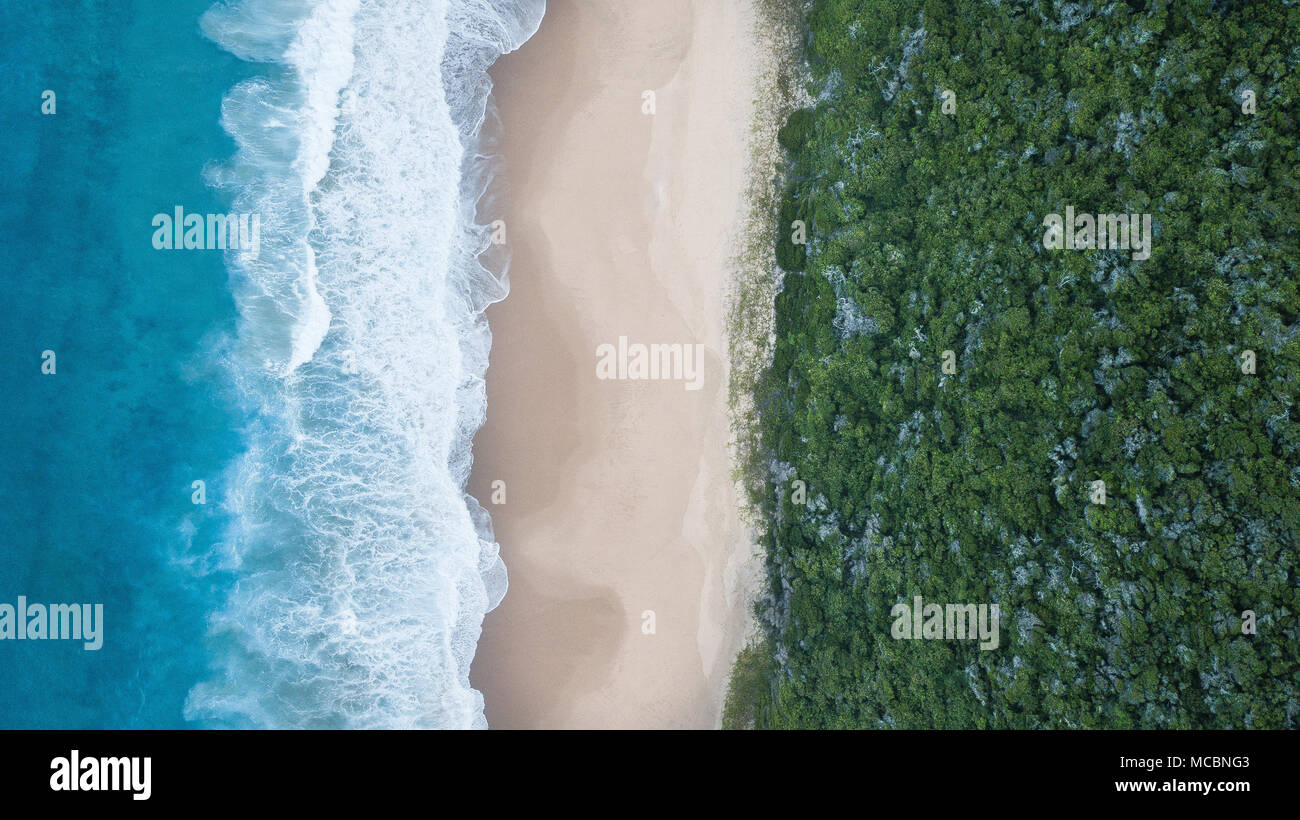 Mozambique Coastline - Stock Image