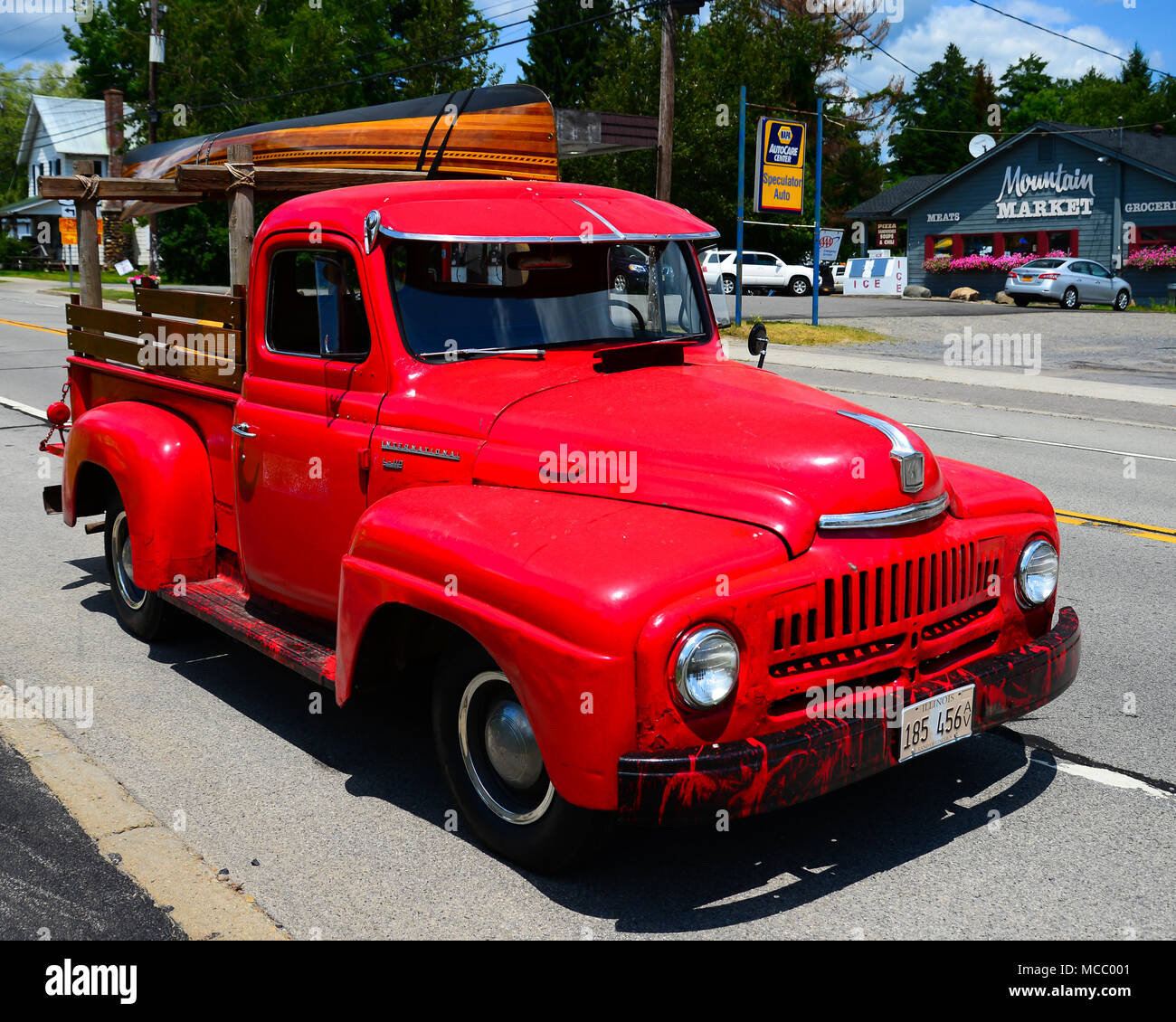 International Pickup Truck Stock Photos & International