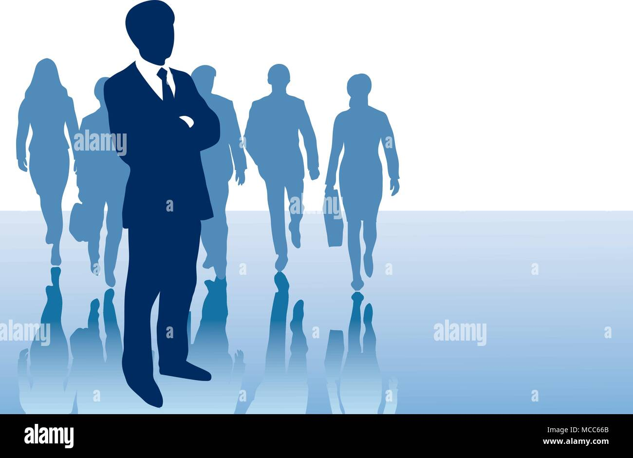 business presentation background for slides with silhouettes of