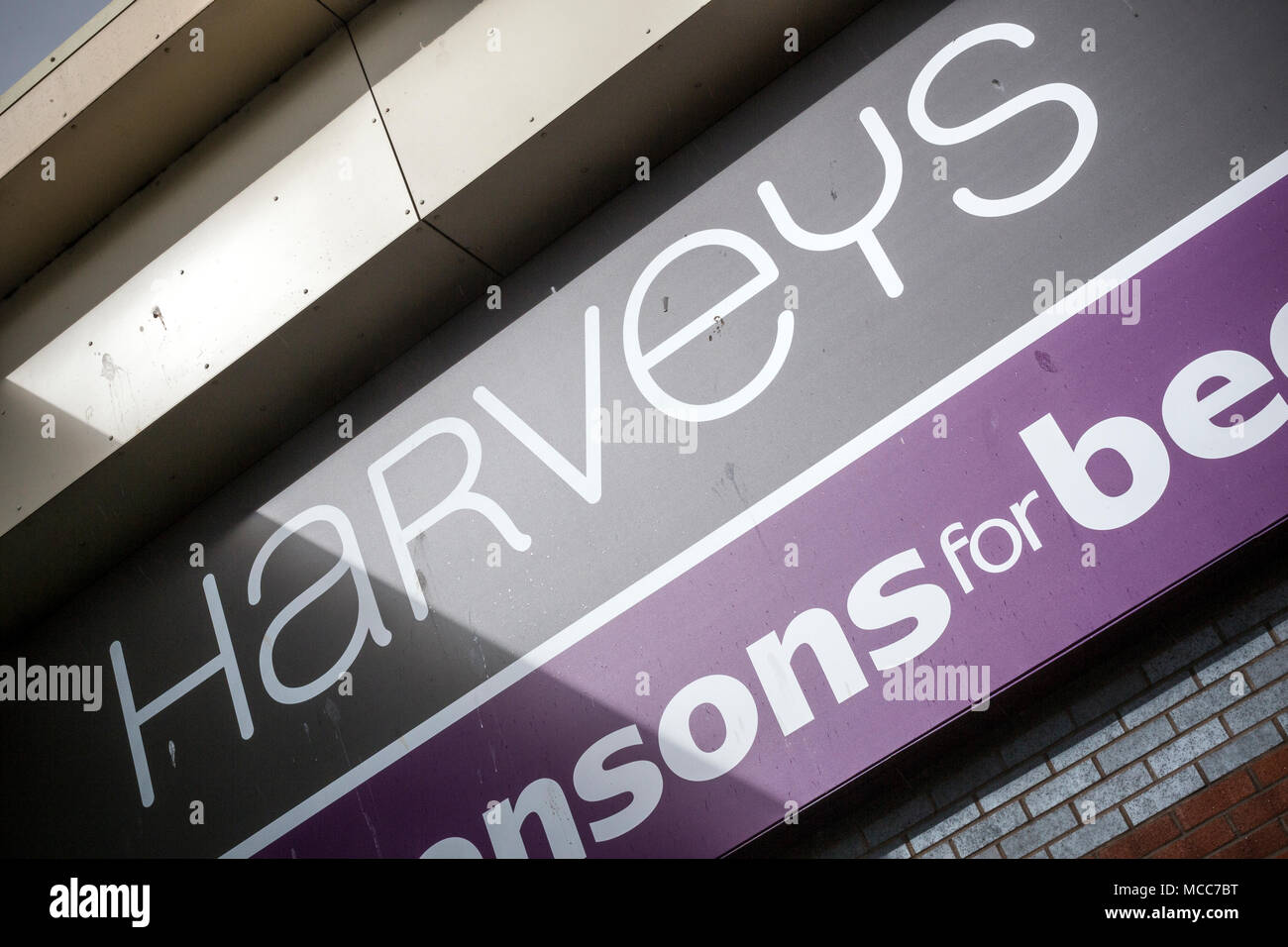 Harveys Furniture,Fabric Sofas,Dining Furniture, Offers,Bedroom Furniture ,BSI Kite Mark Approved,Handcrafted Exclusive Design Sofas , - Stock Image