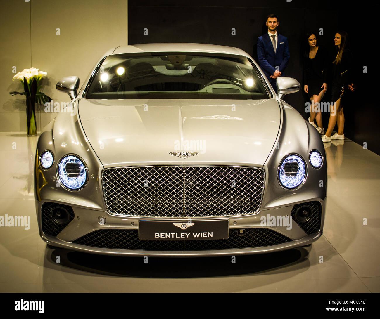 Bentley Wien - Stock Image