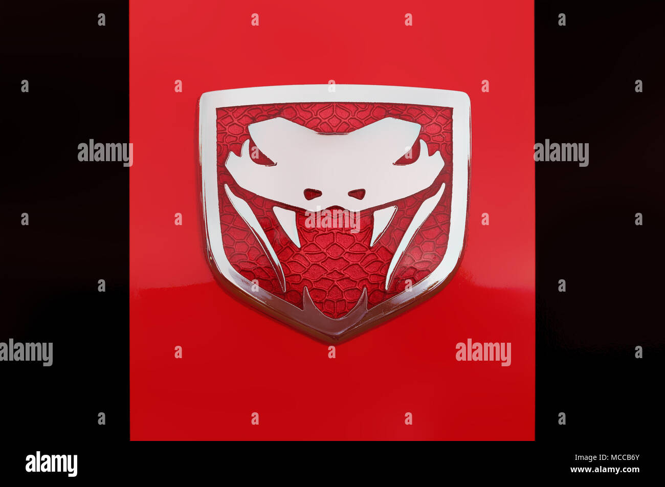 Dodge Viper Logo Stock Photos Dodge Viper Logo Stock Images Alamy