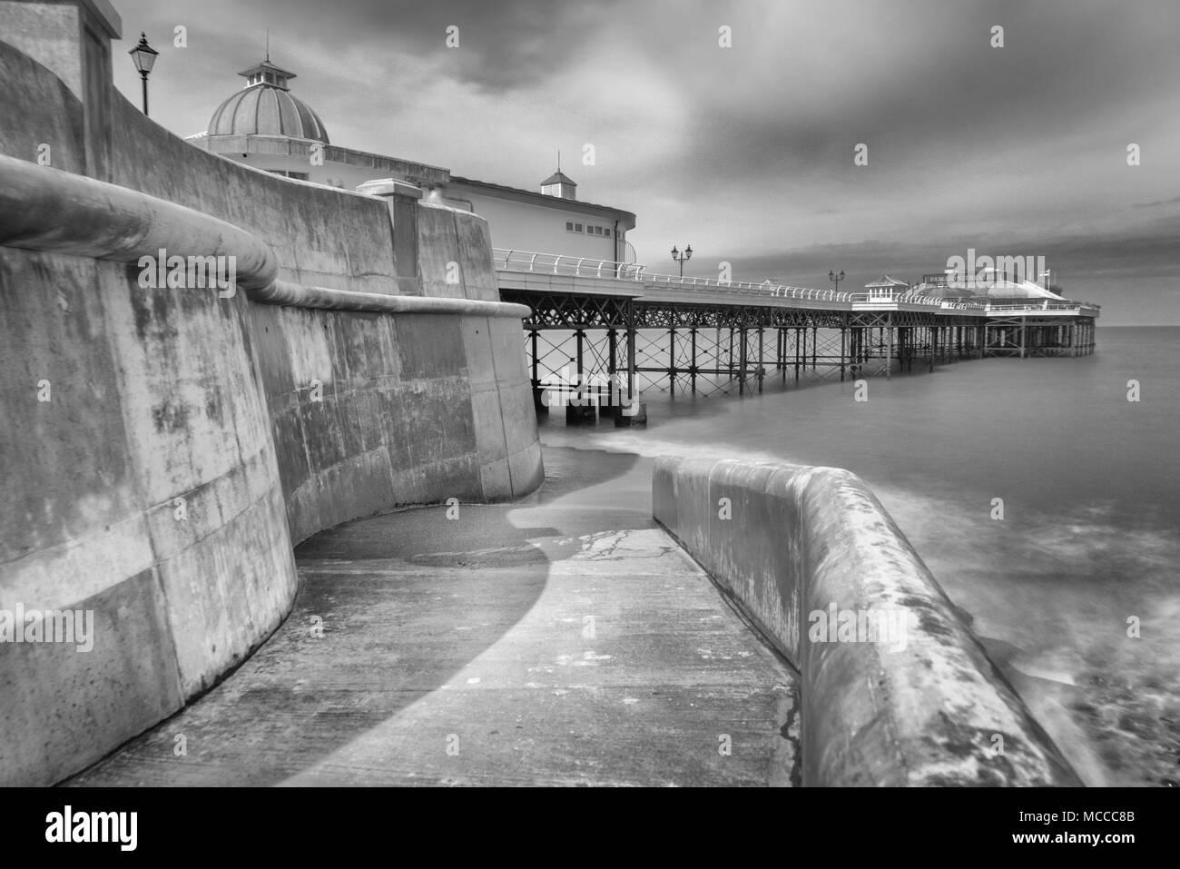 Cromer Pier, Norfolk Stock Photo