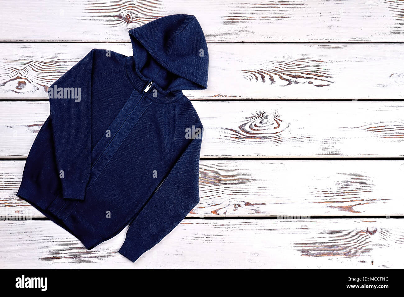 dc96792728e7 Baby boy knitted hooded sweater. Dark blue hooded jacket for baby ...