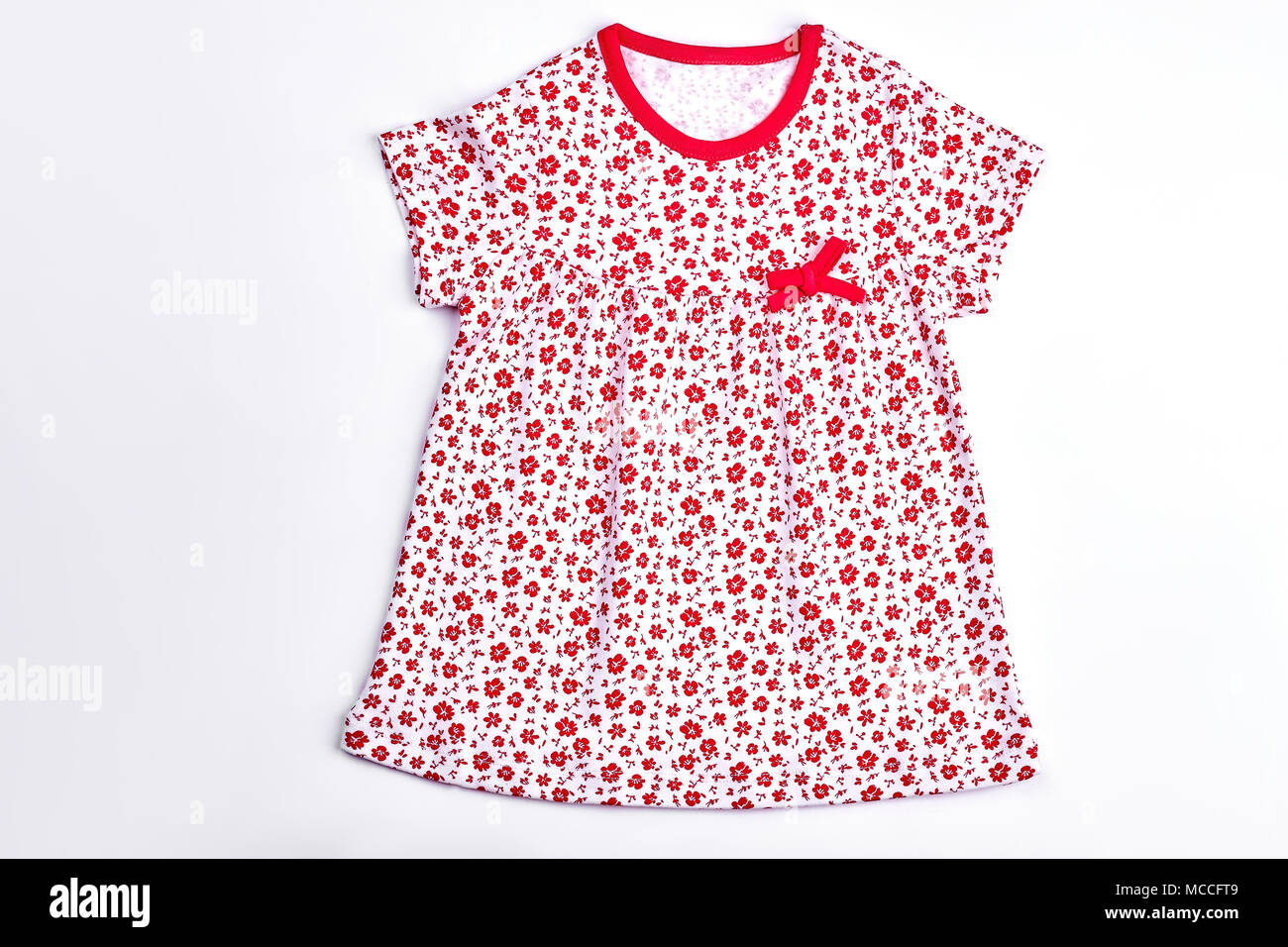 e10a5f417ad2 Cotton baby dress for casual wear. Toddler girl short sleeve vintage ...