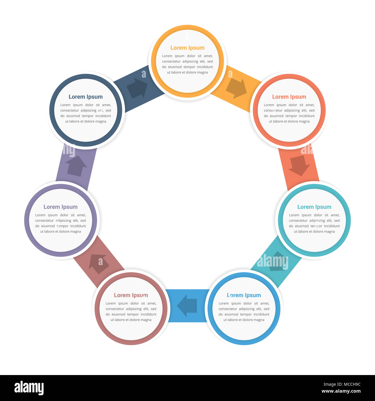 Circle diagram infographic template with seven steps or options circle diagram infographic template with seven steps or options workflow process vector eps10 illustration ccuart Images