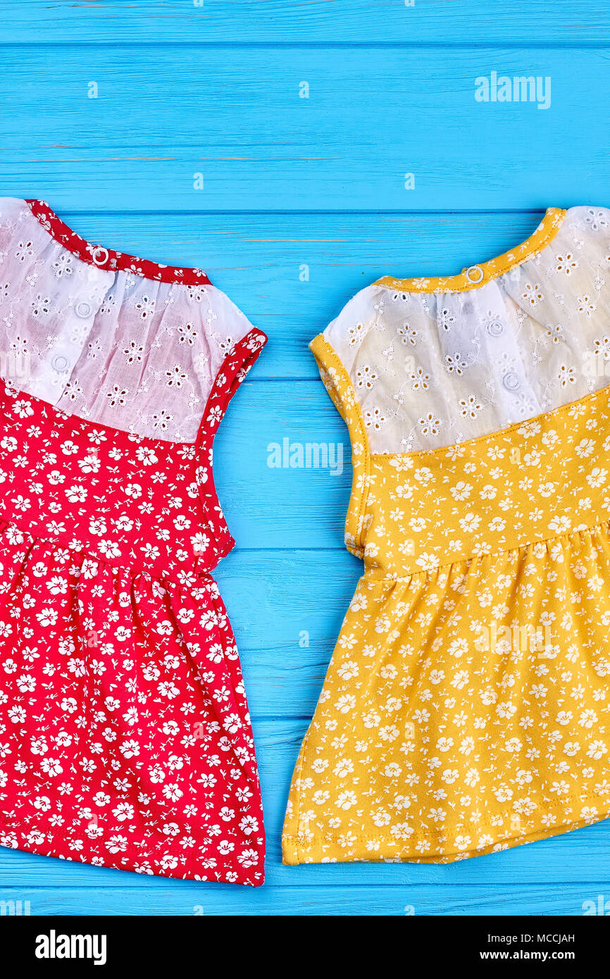 Dress Baby Girl Flower Summer Outfit