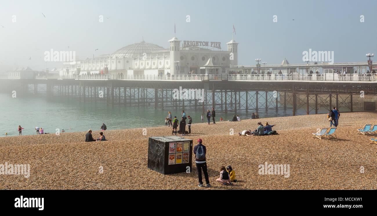Brighton Marathon Weekend 14th April 2018 Stock Photo