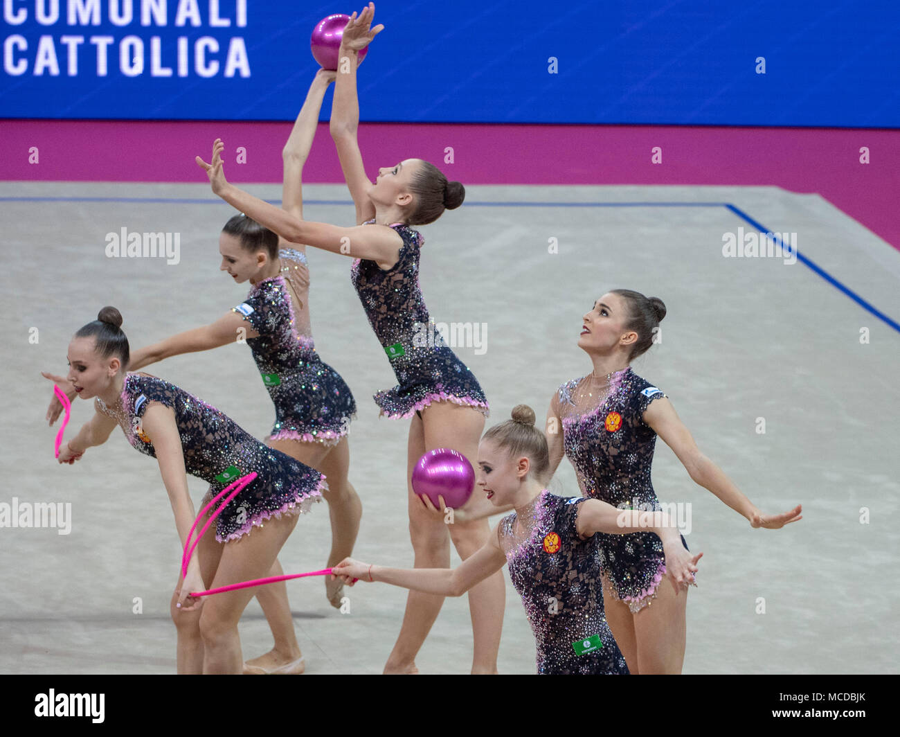 Russia team group (RUS), FIG Rhythmic Gymnastics World Cup Pesaro
