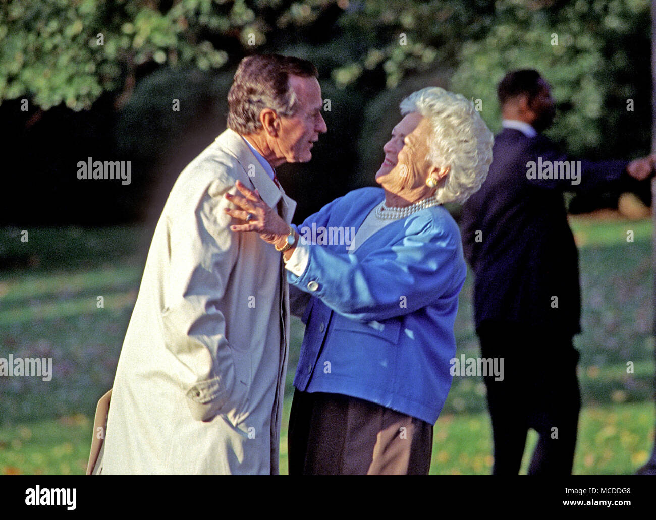 Barbara bush stock photos barbara bush stock images alamy for Did george washington live in the white house